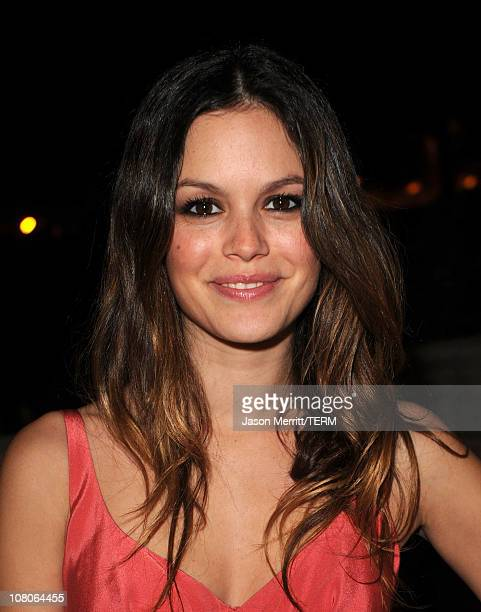 Actress Rachel Bilson arrives at the 2011 Art Of Elysium Heaven Gala held at the California Science Center on January 15 2011 in Los Angeles...