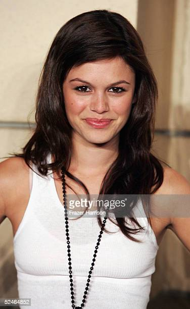 Actress Rachel Bilson arrives at The Academy of Arts and Sciences presents the The OC Revealed at Warner Bros Studios Steven Ross Theatre on March 21...