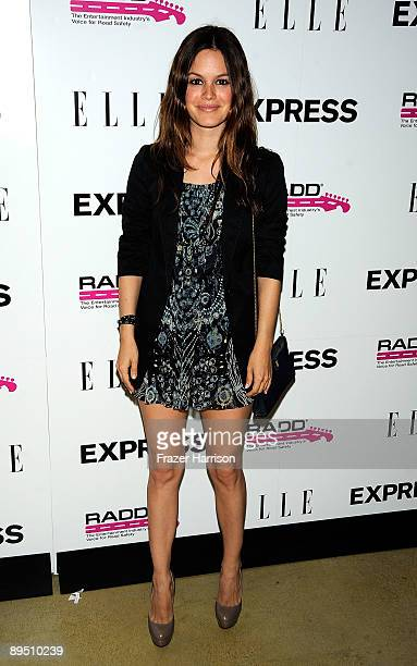 Actress Rachel Bilson arrives at the Express Celebrates TXT L8TR Campaign at Nobu on July 29, 2009 in West Hollywood, California.