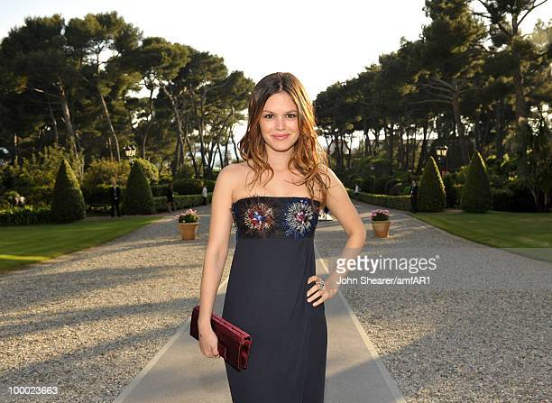 Actress Rachel Bilson attends amfAR's Cinema Against AIDS 2010 benefit gala cocktail reception at the Hotel du Cap on May 20 2010 in Antibes France