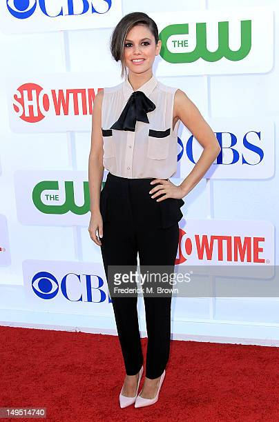 Actress Rachel Bilson attends CW CBS And Showtime 2012 Summer TCA Party at The Beverly Hilton Hotel on July 29 2012 in Beverly Hills California