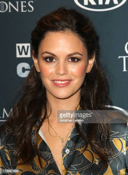 Actress Rachel Bilson attends day 1 of the WIRED Cafe at ComicCon on July 18 2013 in San Diego California