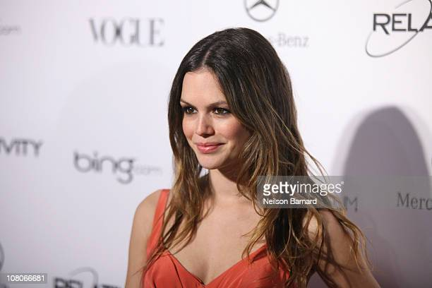 Actress Rachel Bilson attends the Art Of Elysium 'Heaven' Gala 2011 at The California Science Center Exposition Park on January 15 2011 in Los...