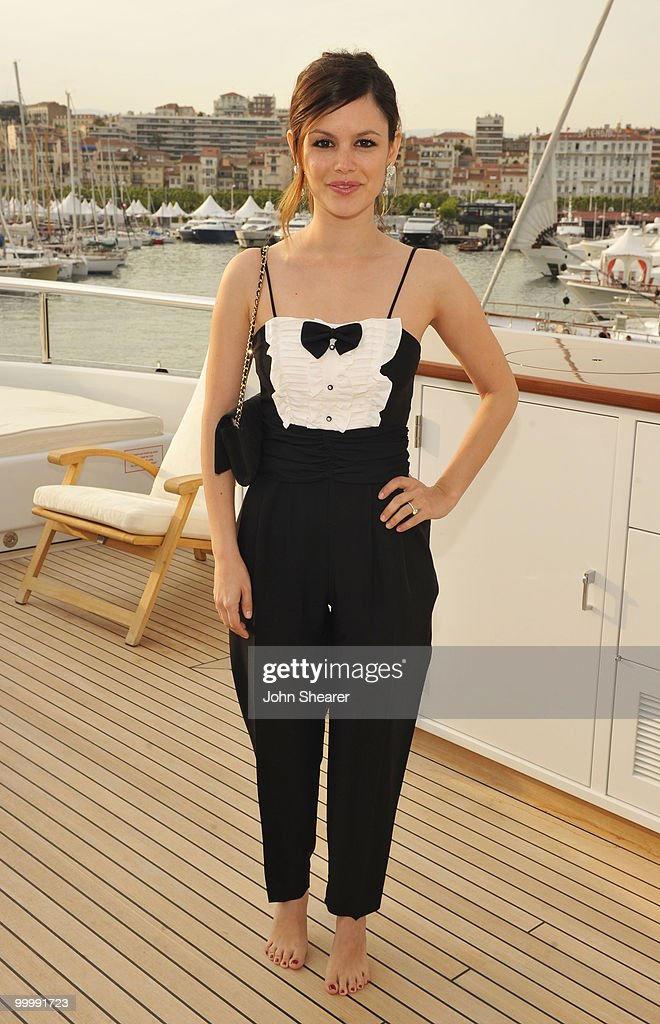 Actress Rachel Bilson attends the 'Art of Elysium Paradis Dinner and Party' at Michael Saylor's Yacht, Slip S05 during the 63rd Annual Cannes Film Festival on May 19, 2010 in Cannes, France.