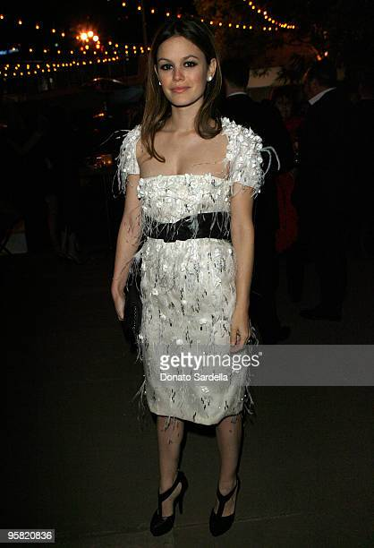 """Actress Rachel Bilson attends The Art of Elysium's 3rd Annual Black Tie Charity Gala """"Heaven"""" on January 16, 2010 in Beverly Hills, California."""