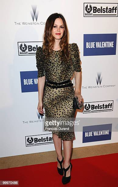 Actress Rachel Bilson attends the Blue Valentine After Party at Palais Stephanie during the 63rd Annual Cannes Film Festival on May 18 2010 in Cannes...