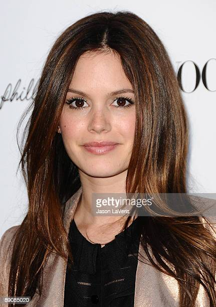 Actress Rachel Bilson attends the one year anniversary of the 3.1 Phillip Lim store on July 15, 2009 in West Hollywood, California.