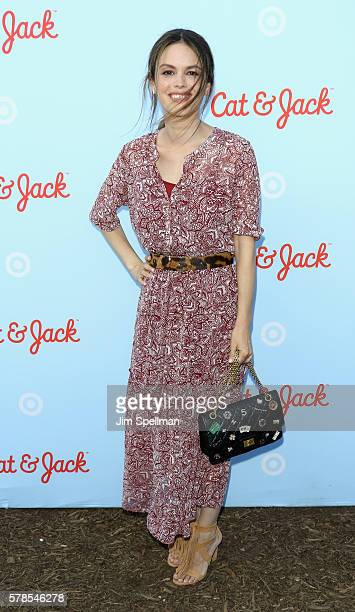 Actress Rachel Bilson attends the Target Launches Cat And Jack Brand at Brooklyn Bridge Park on July 21 2016 in New York City