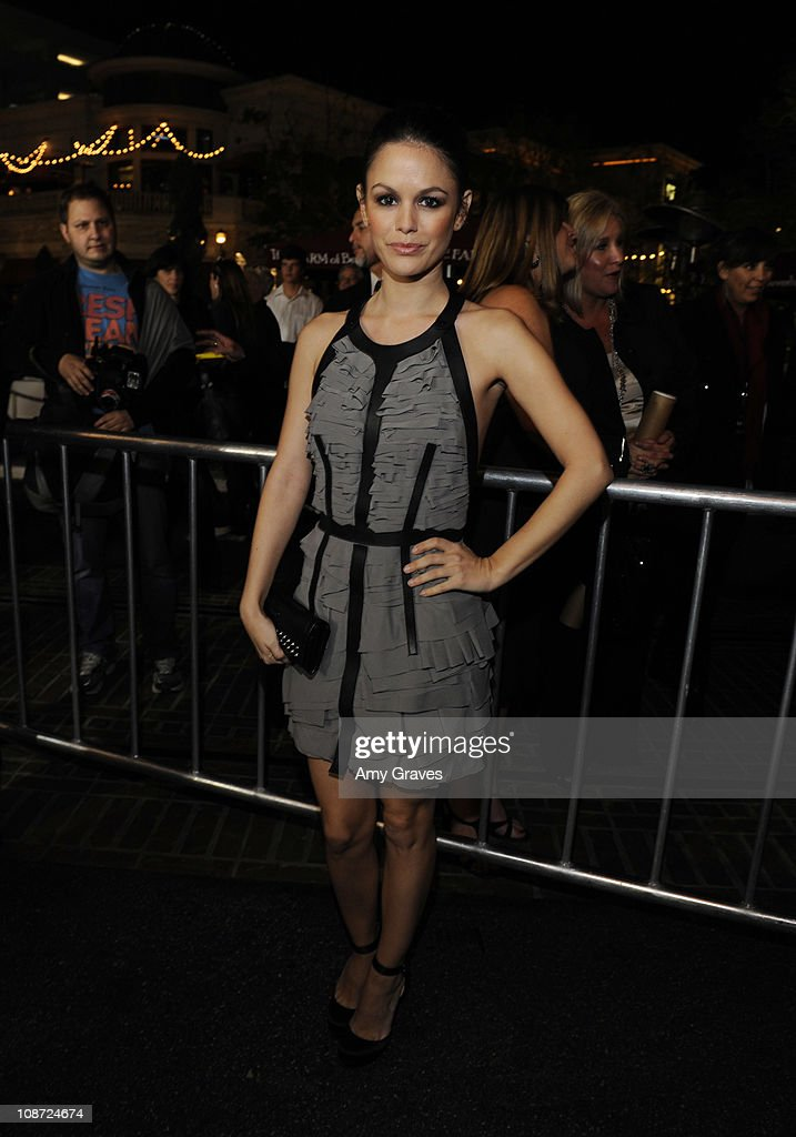 Actress Rachel Bilson attends the 'Waiting for Forever' Movie Premiere at The Grove on February 1, 2011 in Los Angeles, California.