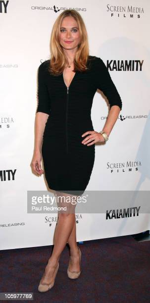 Actress Rachel Blanchard arrives at Kalamity Los Angeles Premiere at Laemmle Sunset 5 Theatre on October 22 2010 in West Hollywood California