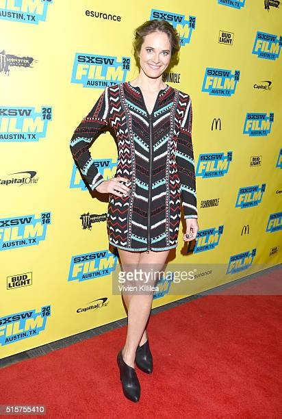 Actress Rachel Blanchard attends the SXSW Premiere Of ATT's Audience Network's You Me Her on March 15 2016 in Austin Texas