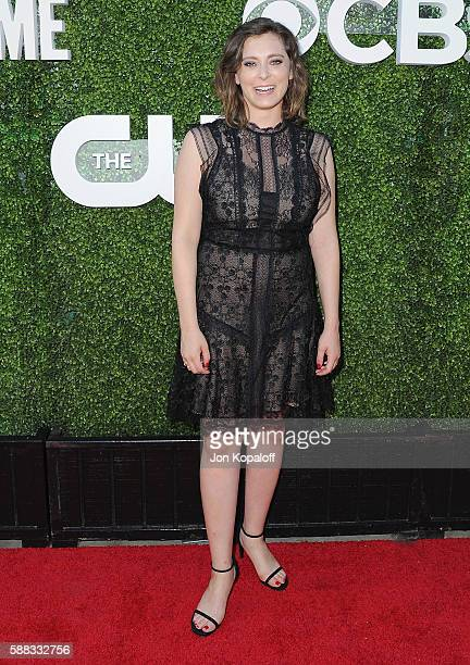 Actress Rachel Bloom arrives at CBS CW Showtime Summer TCA Party at Pacific Design Center on August 10 2016 in West Hollywood California
