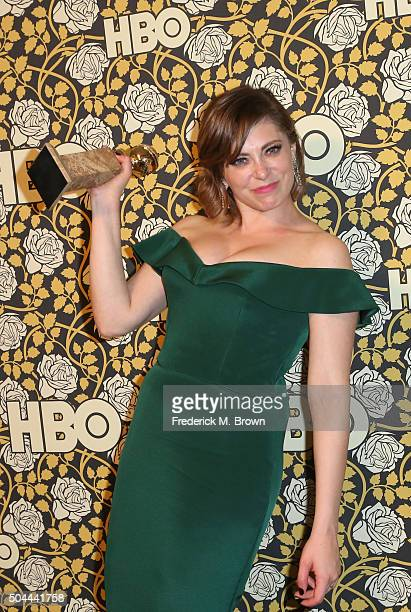 Actress Rachel Bloom attends HBO's Post 2016 Golden Globe Awards Party at Circa 55 Restaurant on January 10 2016 in Los Angeles California