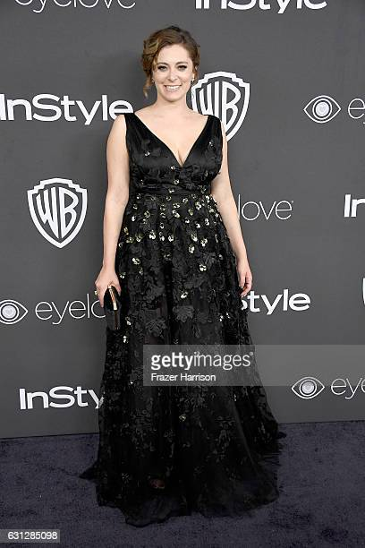 Actress Rachel Bloom attends the 18th Annual PostGolden Globes Party hosted by Warner Bros Pictures and InStyle at The Beverly Hilton Hotel on...