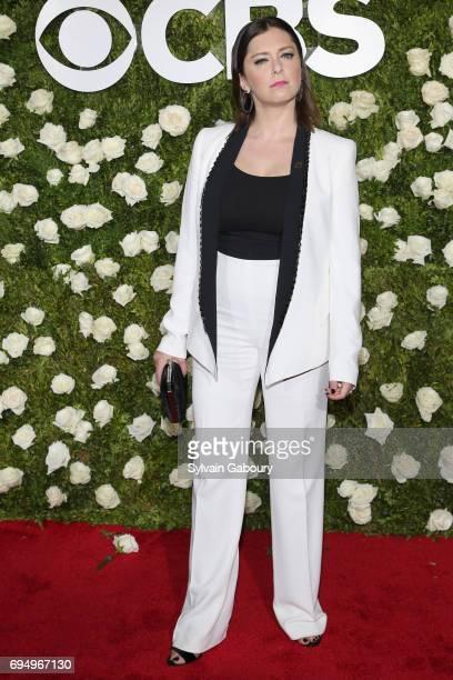 Actress Rachel Bloom attends the 2017 Tony Awards at Radio City Music Hall on June 11 2017 in New York City