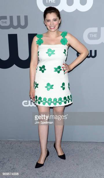 Actress Rachel Bloom attends the 2018 CW Network Upfront at The London Hotel on May 17 2018 in New York City