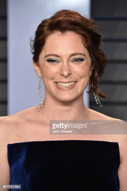 Actress Rachel Bloom attends the 2018 Vanity Fair Oscar Party hosted by Radhika Jones at Wallis Annenberg Center for the Performing Arts on March 4...