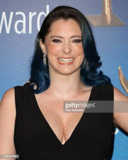 Actress Rachel Bloom attends the 2019 Writers Guild Awards LA ceremony at The Beverly Hilton Hotel on February 17 2019 in Beverly Hills California