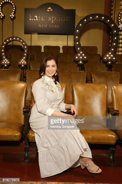 Actress Rachel Bloom attends the Kate Spade presentation during New York Fashion Week: The Shows on February 9, 2018 in New York City.