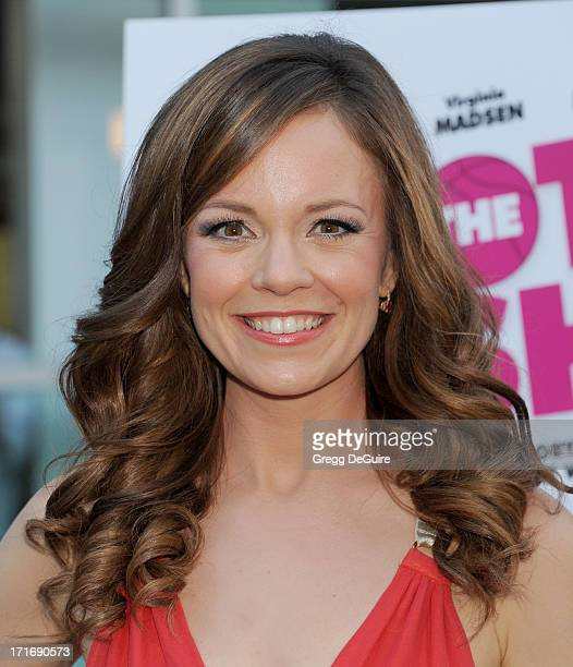"""Actress Rachel Boston arrives at the Los Angeles premiere of """"The Hot Flashes"""" at ArcLight Cinemas on June 27, 2013 in Hollywood, California."""