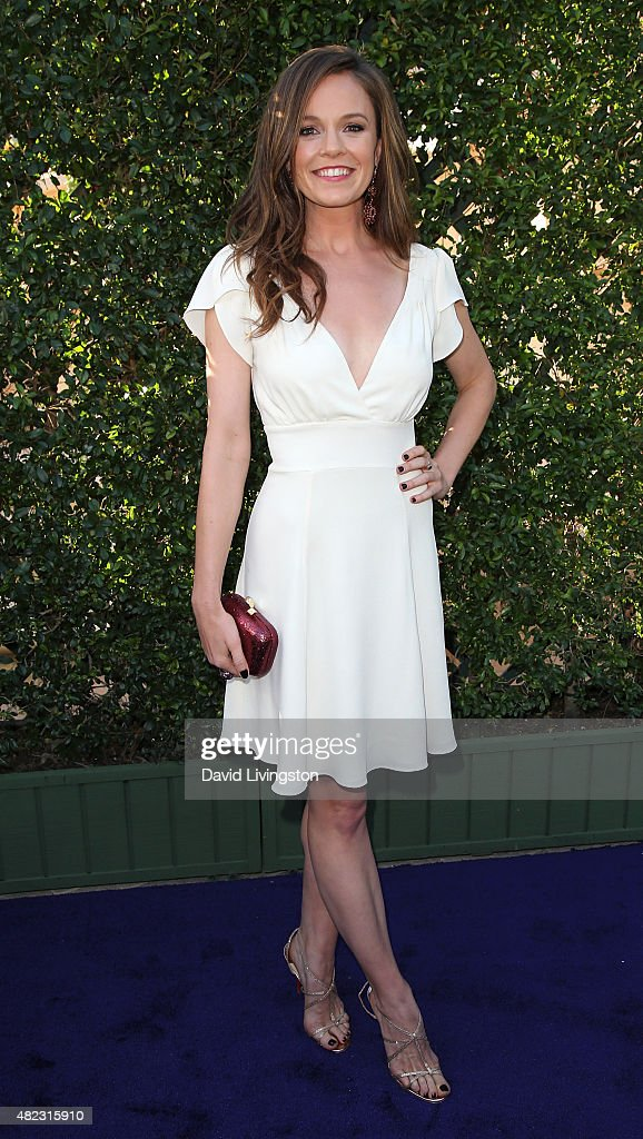 Actress Rachel Boston attends Hallmark Channel and Hallmark Movies and Mysteries at the 2015 Summer TCA Tour at a private residence on July 29, 2015 in Beverly Hills, California.