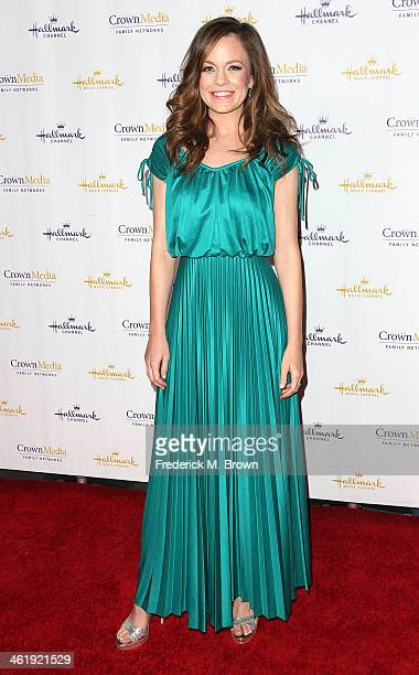 Actress Rachel Boston attends Hallmark Channel & Hallmark Movie Channel's 2014 Winter TCA Party at The Huntington Library and Gardens on January 11,...