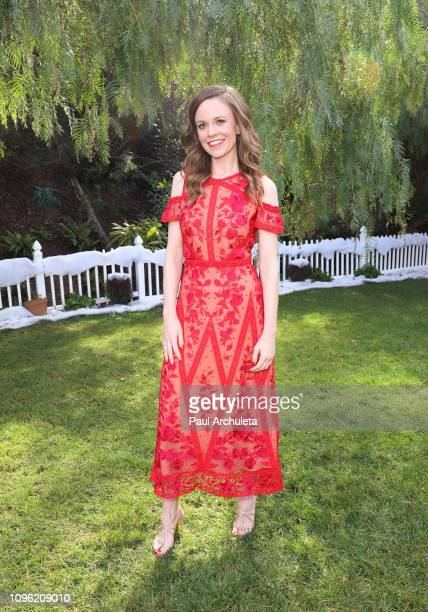 "Actress Rachel Boston visits Hallmark's ""Home & Family"" at Universal Studios Hollywood on January 18, 2019 in Universal City, California."