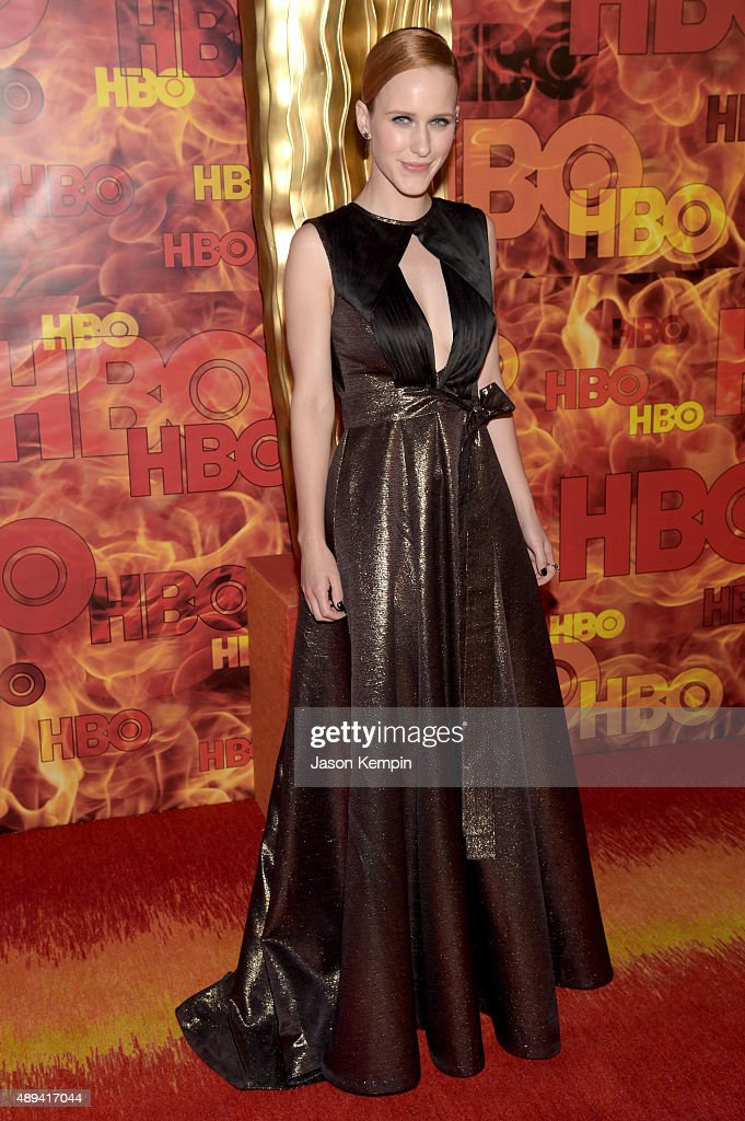 Actress Rachel Brosnahan attends HBO's Official 2015 Emmy After Party at The Plaza at the Pacific Design Center on September 20, 2015 in Los Angeles, California.