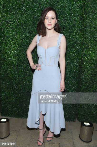 Actress Rachel Brosnahan attends the RUFFINO Wines DANNIJO 'Always Sparkling' Dinner on February 6 2018 in New York City