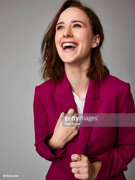 Actress Rachel Brosnahan is photographed for Back Stage on October 19 2017 in New York City