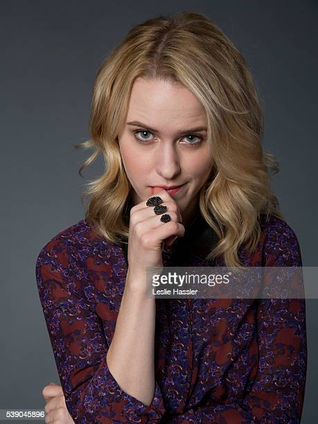 Actress Rachel Brosnahan is photographed for Glamourcom on April 18 2016 in New York City