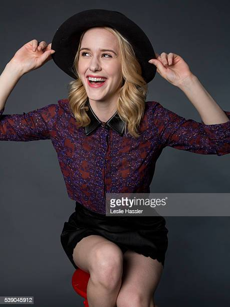 Actress Rachel Brosnahan is photographed for Glamourcom on April 18 2016 in New York City PUBLISHED IMAGE