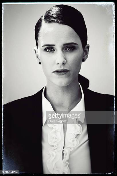 Actress Rachel Brosnahan is photographed on May 15 2015 in Cannes France