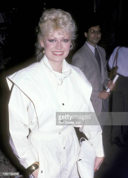 Actress Rachel Dennison attends the 20th Century Fox Television Party on September 7 1986 at Spago in West Hollywood California