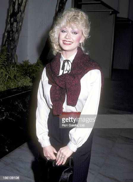 Actress Rachel Dennison attends the ABC Television Fall Party on September 15 1983 at Century Plaza Hotel in Los Angeles California
