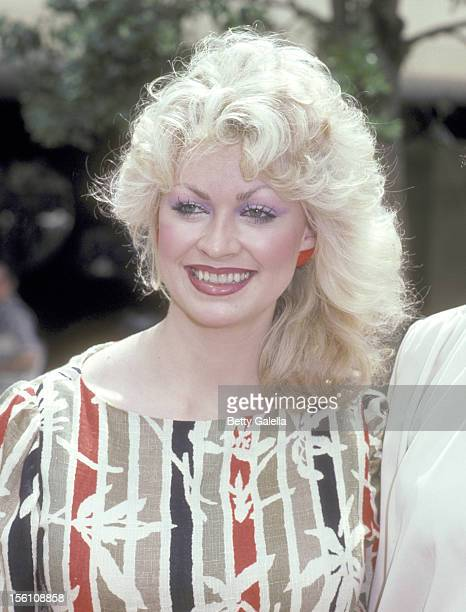 Actress Rachel Dennison attends the Press Conference for the Television Show 'Nine to Five' on March 24 1982 at ABC Entertainment Center in Century...