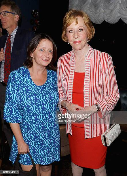 """Actress Rachel Dratch and actress/comedian Carol Burnett attend the after party for """"The Carol Burnett Show: The Lost Episodes"""" screening hosted by..."""