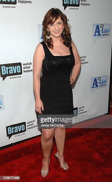 Actress Rachel Dratch attends Bravo's 1st AList Awards at the Hammerstein Ballroom on June 4 2008 in New York City