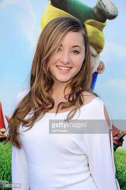 Actress Rachel G Fox arrives at the Los Angeles premiere of 'Gnomeo and Juliet' at the El Capitan Theatre on January 23 2011 in Hollywood California