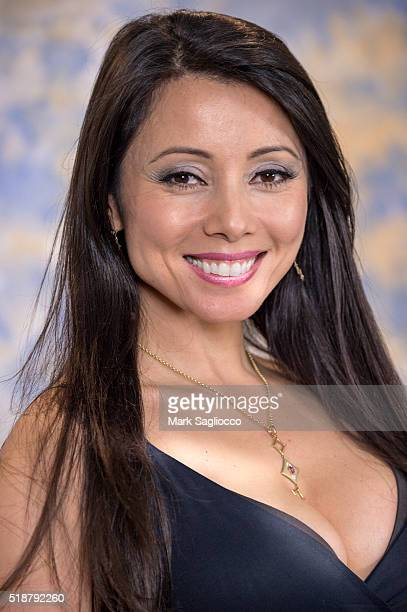 Actress Rachel Grant attends the 2016 Long Island SciFi/Fantasy Convention at Ramada Plaza on April 2 2016 in Holtsville New York