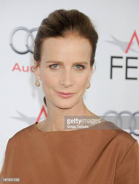 Actress Rachel Griffiths arrives at AFI FEST 2013 Opening Night Gala premiere of Saving Mr Banks at TCL Chinese Theatre on November 7 2013 in...
