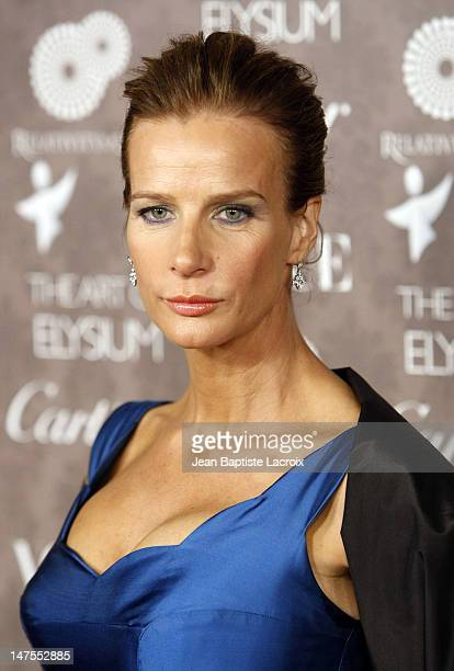 Actress Rachel Griffiths arrives at the Art of Elysium 2nd Annual Heaven Gala held at Vibiana on January 10, 2009 in Los Angeles, California.