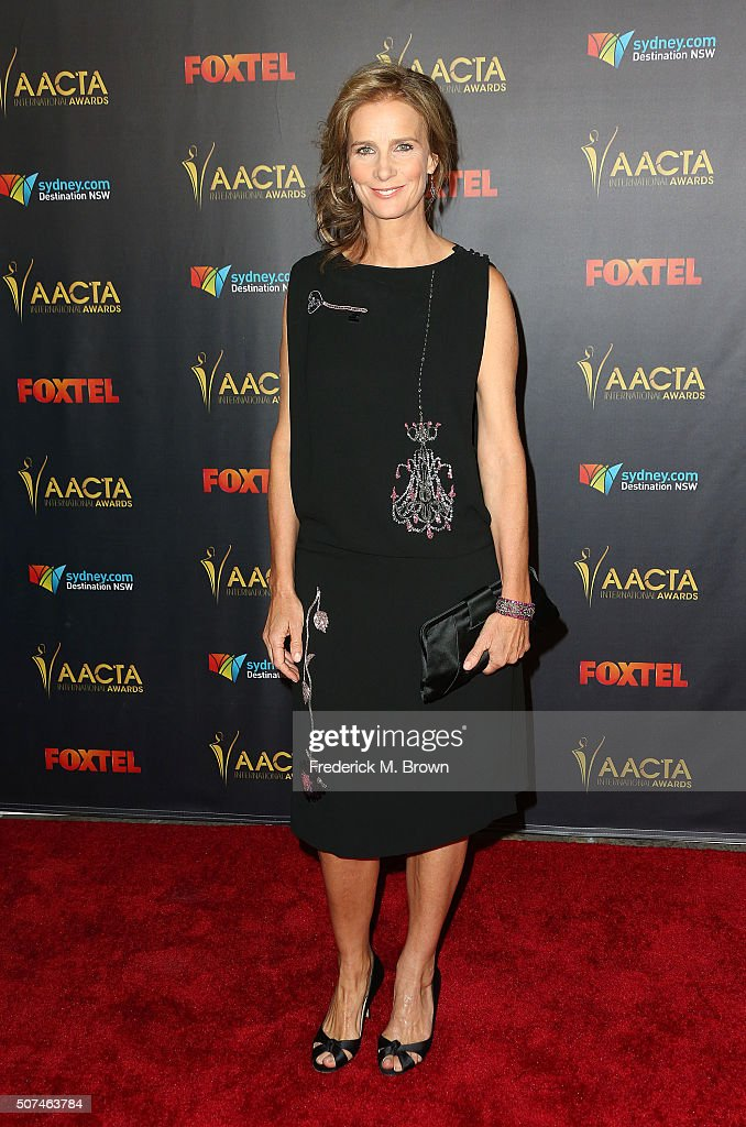 Actress Rachel Griffiths attends the AACTA International Awards at Avalon Hollywood on January 29, 2016 in Los Angeles, California.