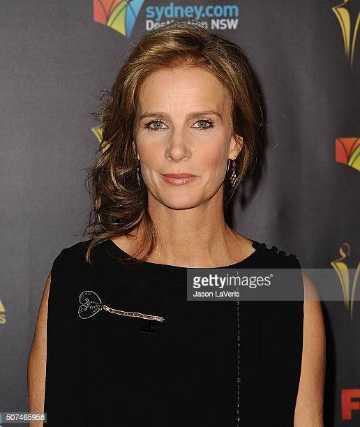 Actress Rachel Griffiths attends the AACTA International Awards at Avalon Hollywood on January 29 2016 in Los Angeles California