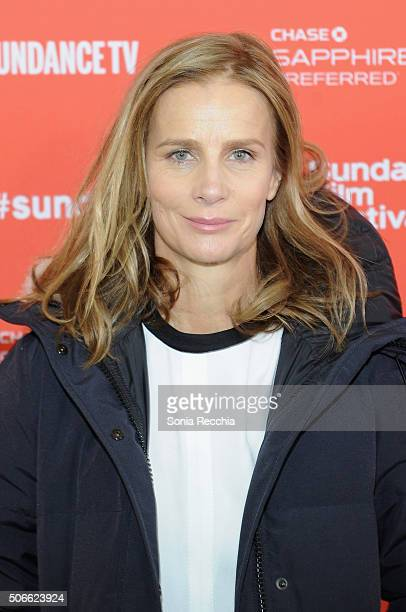 Actress Rachel Griffiths attends the 'Mammal' Premiere during the 2016 Sundance Film Festival at Library Center Theater on January 24 2016 in Park...