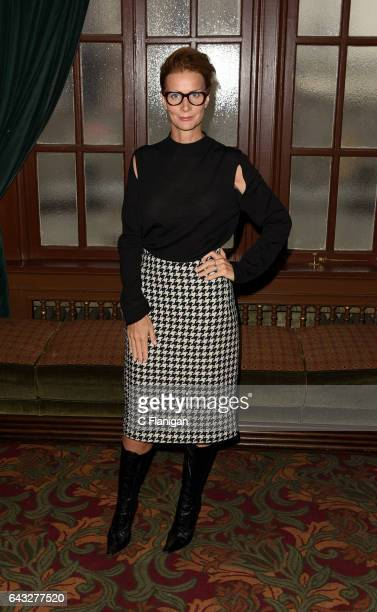 Actress Rachel Griffiths attends the Screening Of ABC's 'When We Rise' at Castro Theatre on February 20 2017 in San Francisco California