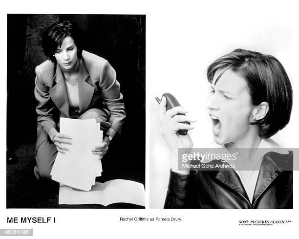 Actress Rachel Griffiths in a scene from the movie Me Myself I circa 1999
