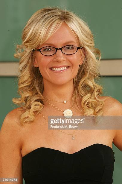 Actress Rachel Harris attends the 'License to Wed' film premiere at the Pacific Cinerama Dome on June 25 2007 in Hollywood California
