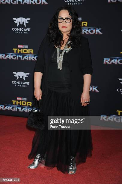 Actress Rachel House attends the premiere of Disney and Marvel's 'Thor Ragnarok' on October 10 2017 at the El Capitan Theater in Hollywood California