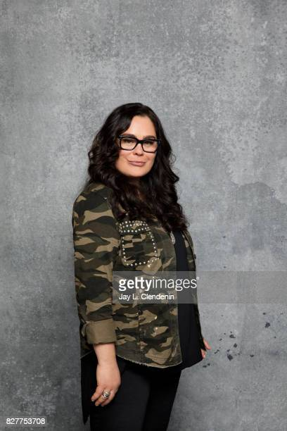 Actress Rachel House from the film 'Thor Ragnarok' is photographed in the LA Times photo studio at ComicCon 2017 in San Diego CA on July 22 2017...